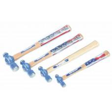 Tool, Hammer Set, Ball Peen 4oz, 8oz, 12oz, and 16oz